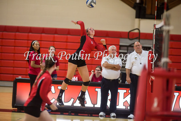 Clark volleyball 9/1/2015