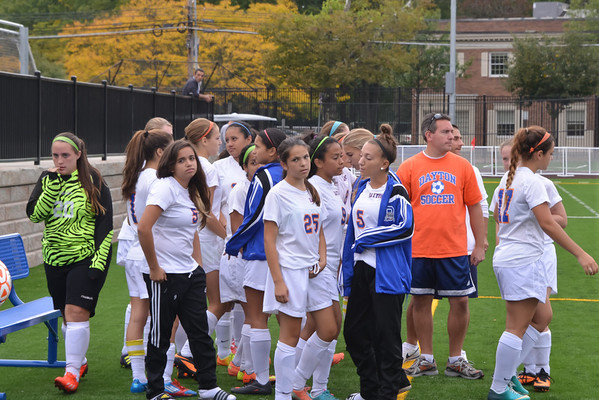 2013-09-27 Dayton Girls Varsity Soccer vs Roselle Catholic #3 of 5