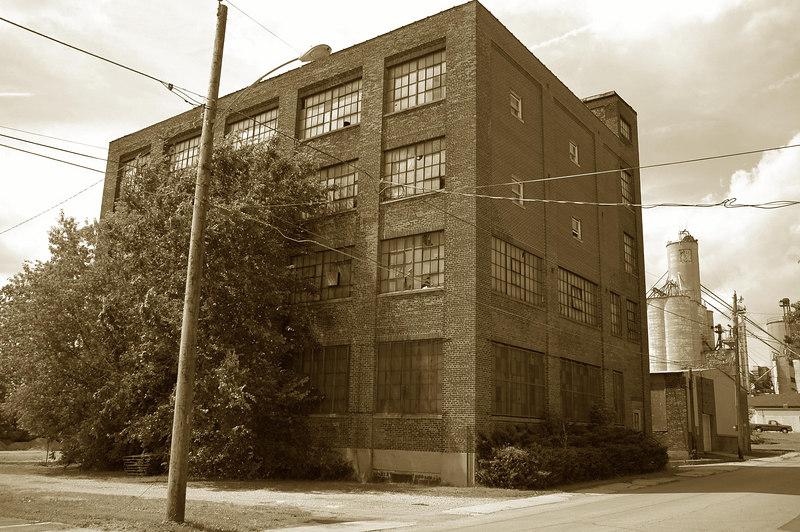 Original home of Shelby Gum Co.
