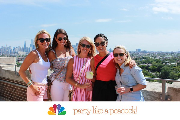 "NBC Universal ""party like a peacock!"""
