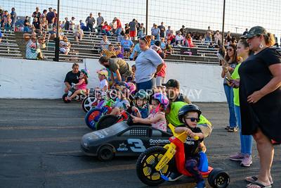 7.27.19 Shriners Night NASCAR Racing plus Trike Races