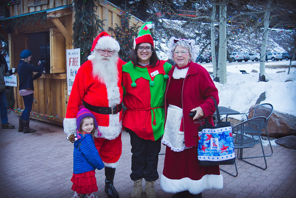 Christmas 2014 - train ride with Santa