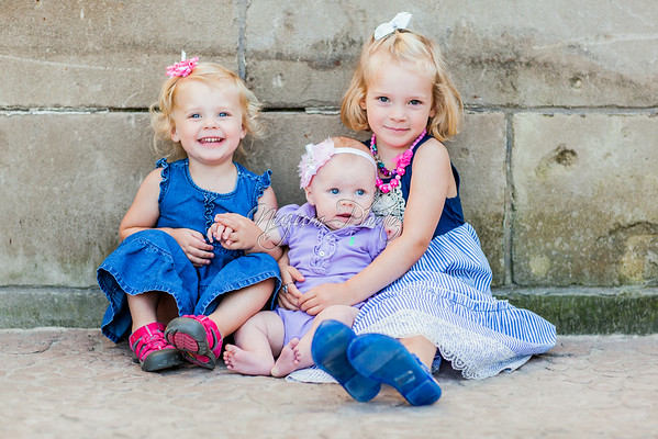 July 2014 - Evalyn, Claire, and Ruth
