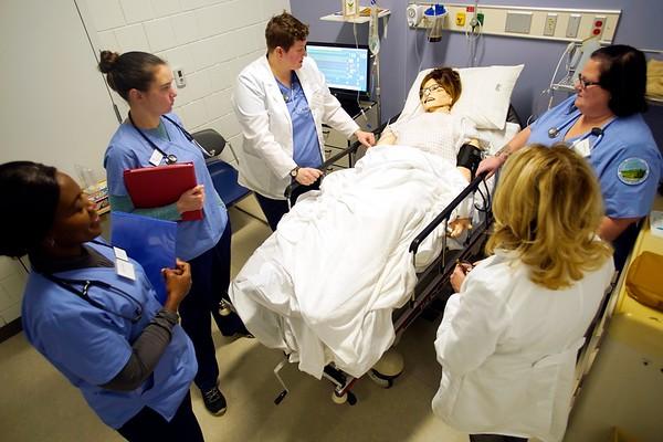 Berkshire Community College nursing lab - 120518