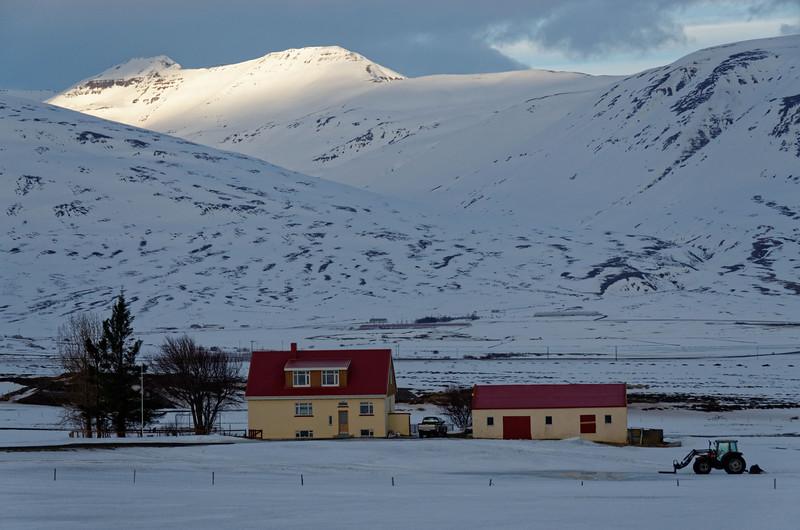 Farmhouses South of Dalvik: Svarfadardalsa
