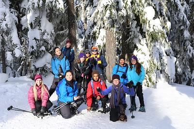 Snowshoeing 28Jan17