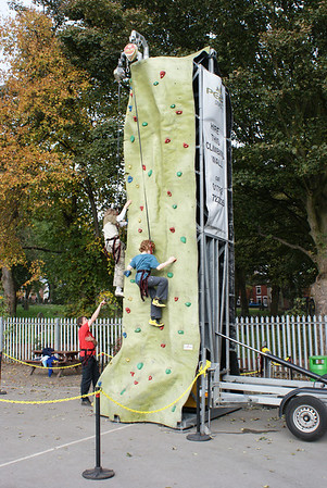 2009-10-17 Climbing Wall