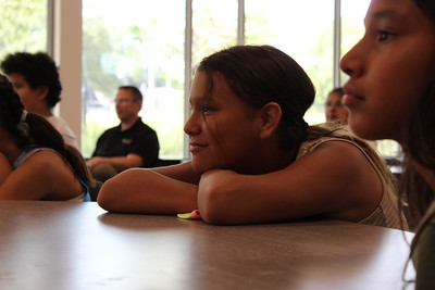 American Indian students visit focus programs