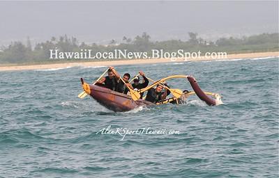 "04-07-12 Pu'uloa Outrigger Canoe Club ""Honoring"" Aunty Mary Kaipo Malama Serrao"