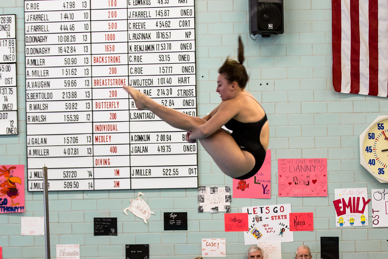 SUNY Brockport Diving