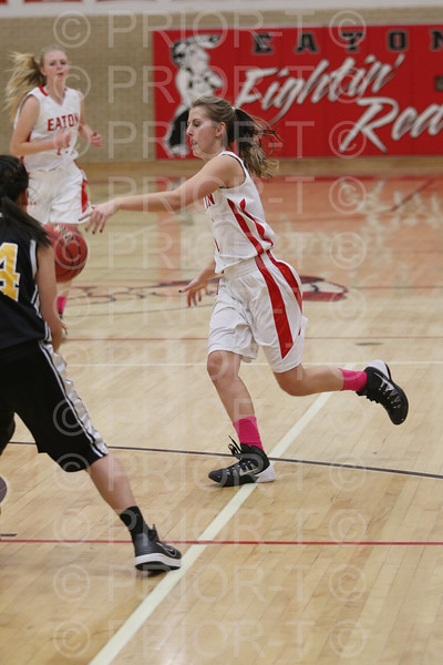 2/3/15 Eaton Junior Varsity Girls Basketball vs Valley