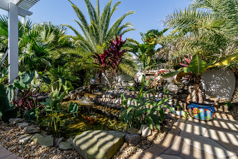 Koi Ponds & Water Features in The Villages by Touch of Paradise Designs