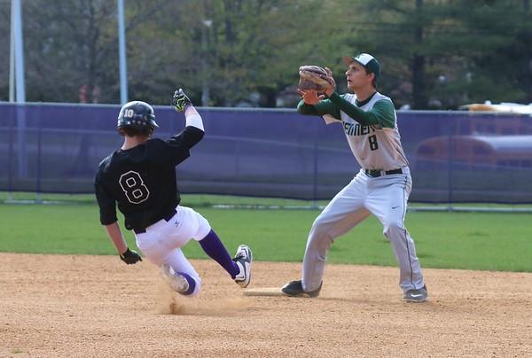 Var Baseball vs JFK Mustangs, April 24, 2015