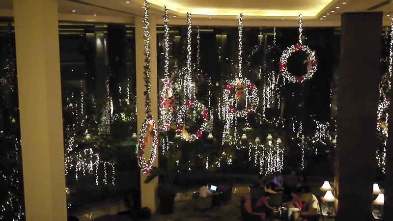 EDSA Shangri-La has holiday spirit.