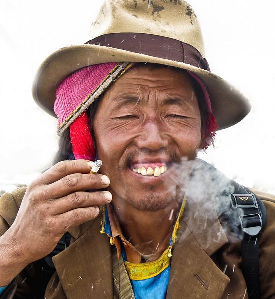Yak driver, Lhasa, Tibet