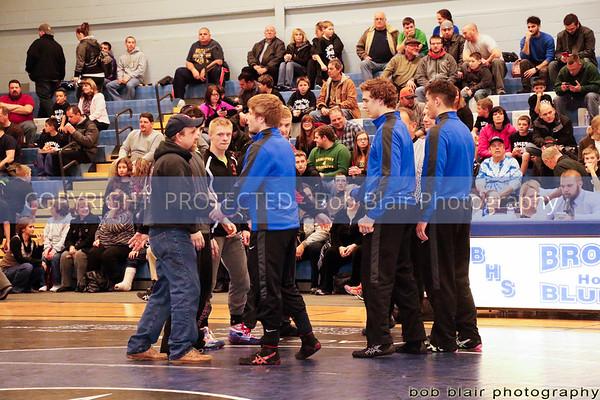 Brockport v. Warsaw Wrestling