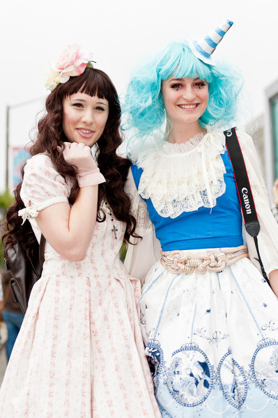Lolitas at the 2011 J-POP Summit Festival