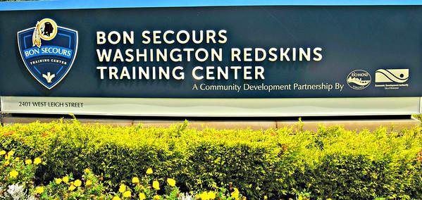 REDSKINS TRAINING CAMP 8-4-18