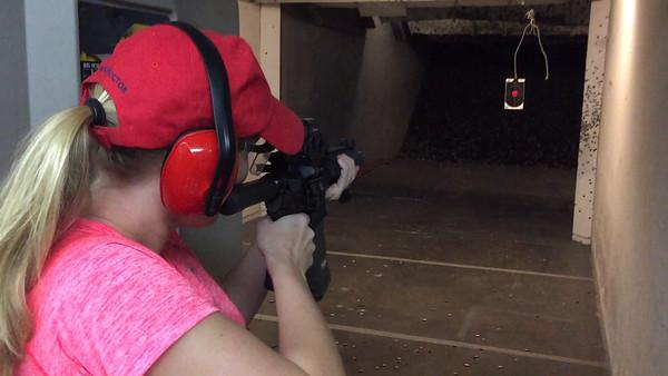 Jennifer Lee at the Range