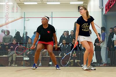 2010-12-04 Tanesha Jackson (Wesleyan) and Elizabeth Tapley (George Washington)