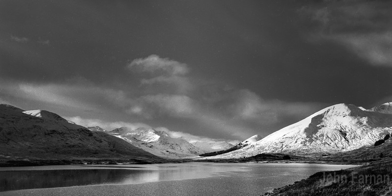 Black and White Scottish Landscapes
