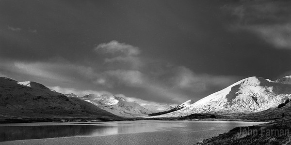 Black and White Scottish Landscapes