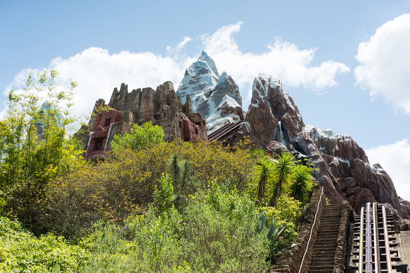 Expedition Everest Lift - Disney's Animal Kingdom Walt Disney World