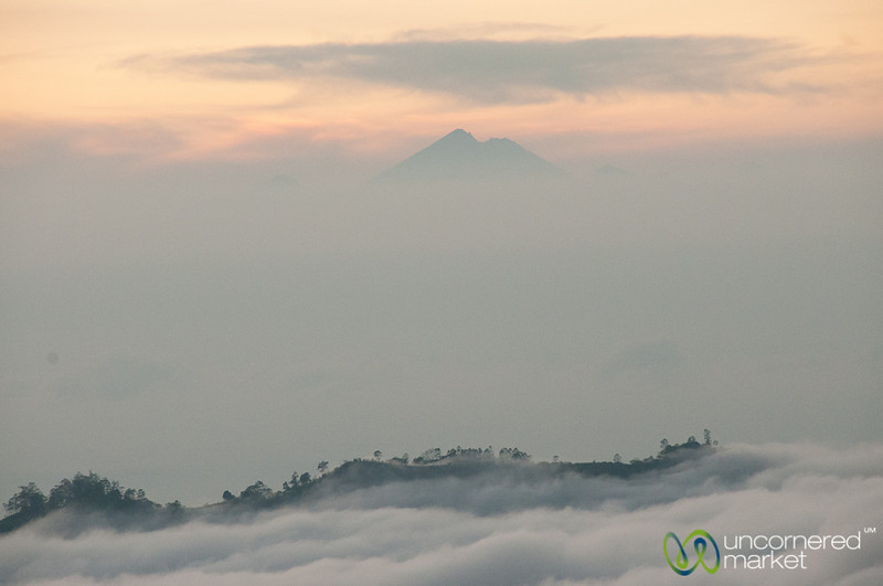 Clouds at Dawn at Mt. Batur - Bali, Indonesia