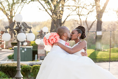 Dameron & Jocelynn Cribbs' Wedding Day