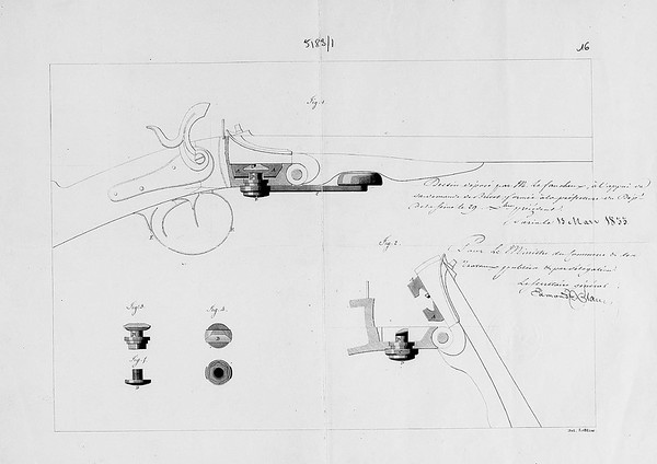 Image of drawing from 13 Mar 1833 patent