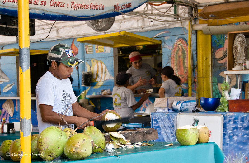 Around Town: Fresh coconuts