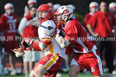 Lacrosse, Boys H.S. Varsity, St John's vs Chaminade, 04-17-08