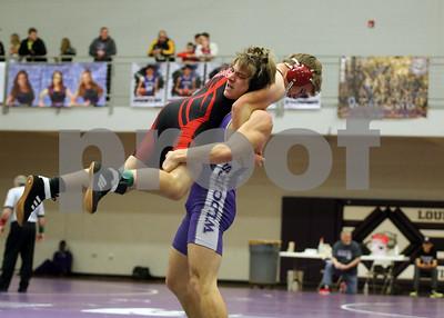LHS Wrestling at Louisburg Invite