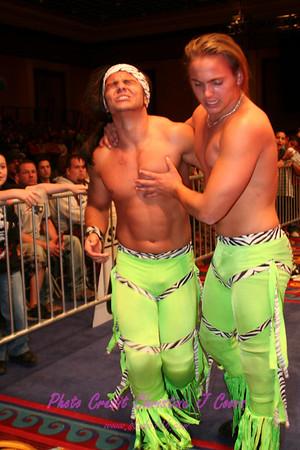 NWA Showcase 080418 04 The Playa's Club vs The Young Bucks