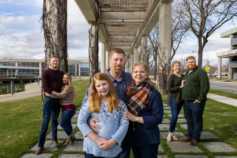 Terri Seitz Family 2021