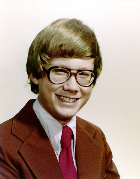 School age picture of Mark - uncertain of the grade.