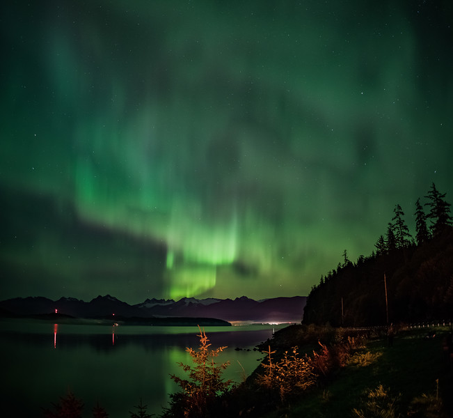 Juneau's Northern Lights