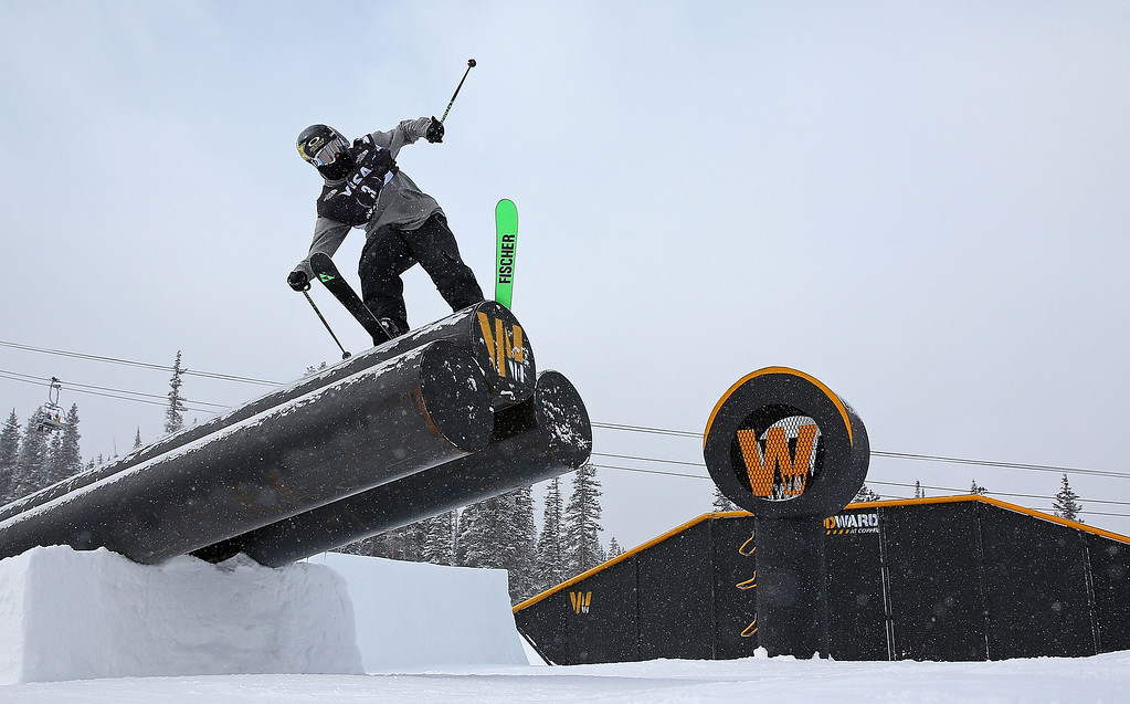 . Grete Eliassen competes during finals for the womens FIS Ski  Slopestyle World Cup at U.S. Snowboarding and Freeskiing Grand Prix on December 21, 2013 in Copper Mountain, Colorado.  (Photo by Mike Ehrmann/Getty Images)