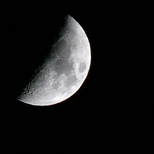 The Moon - FZ30 - With Tele converter LT55