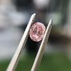 .34ct Fancy Intense Pink Oval Cut Diamond  13