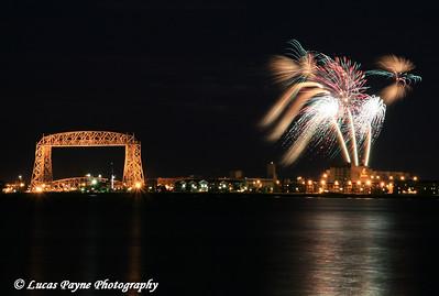 Duluth Fireworks