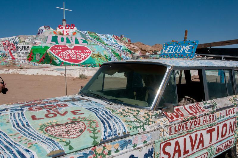 Salvation Mountain - Salton Sea, California