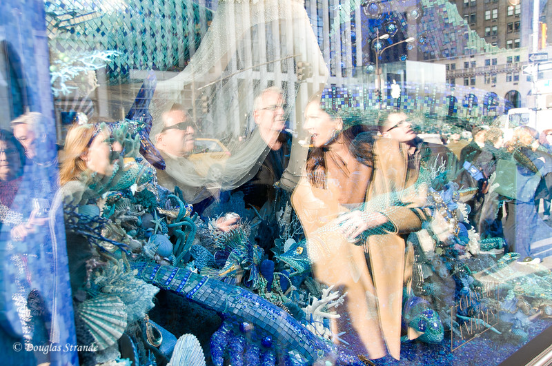 Window Gazers at Bergdorf-Goodman