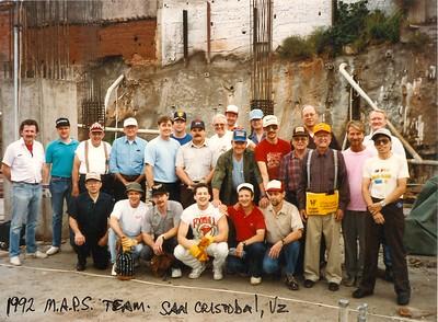 1992 San Cristobal Venezuela MAPS Trip
