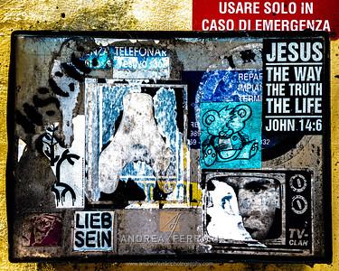 Graffiti and Sticker