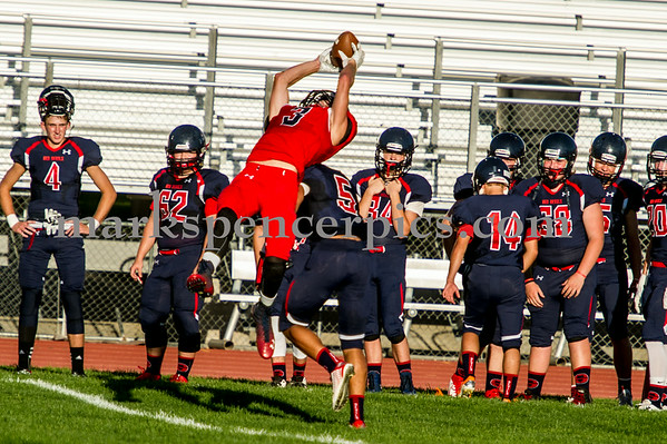 Football SHS Red and Blue Game 8-15-2014