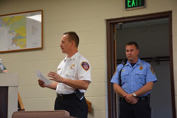Fire Badge Ceremony