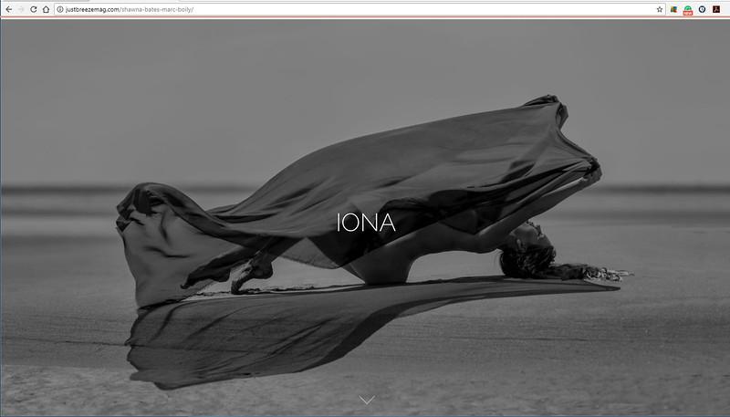JustBreeze Magazine | IONA | ShawnaBates | 7.2017