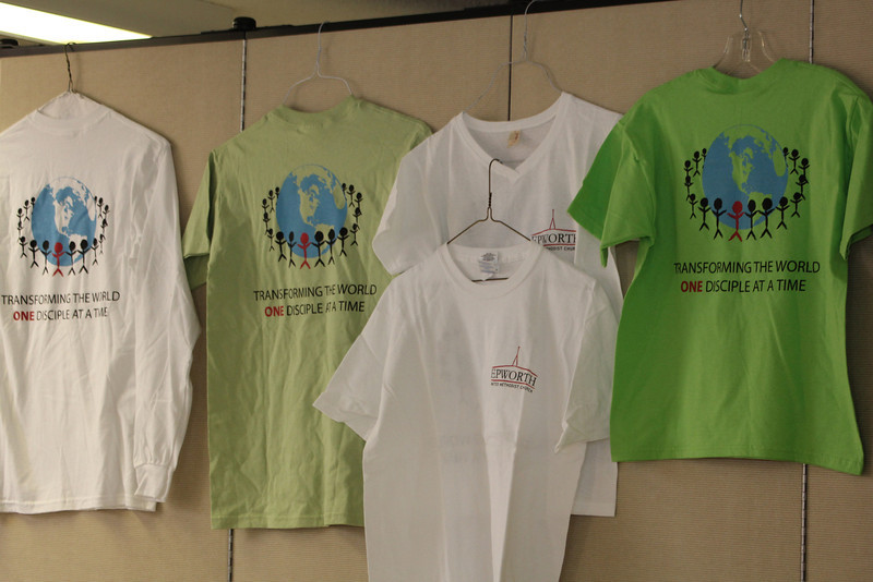 Epworth Tee-shirts sold by Witness Committee