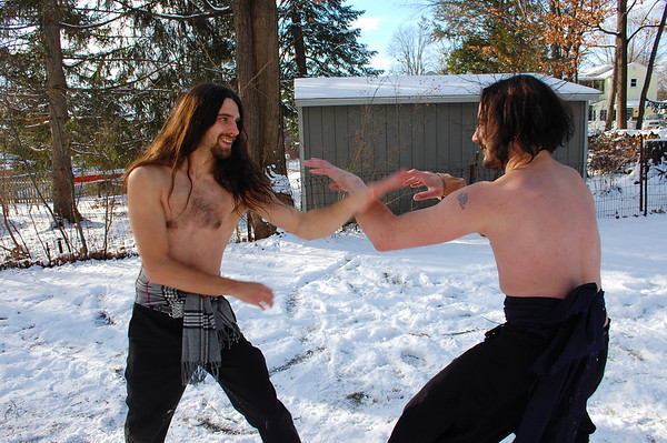 Adam & Arron Swordfighting and Martial Arts (Part 2)